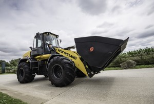 NEW HOLLAND WHEELED LOADER