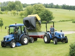 NEW HOLLAND COMPACT TRACTORS
